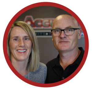 Jim & Lesley Donnellys Accurate Pest Control Owners